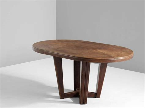 small oval dining table in solid oak at 1stdibs