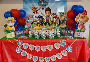paw patrol happy birthday banner learn free printables included