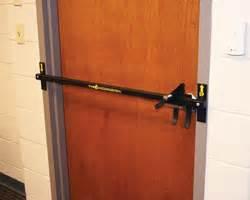 barricading a door barracuda door barricade for active shooter situations
