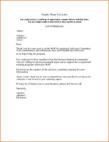Business Letter Of Gratitude Exle Sle Letters Of Appreciation Sales Report Template