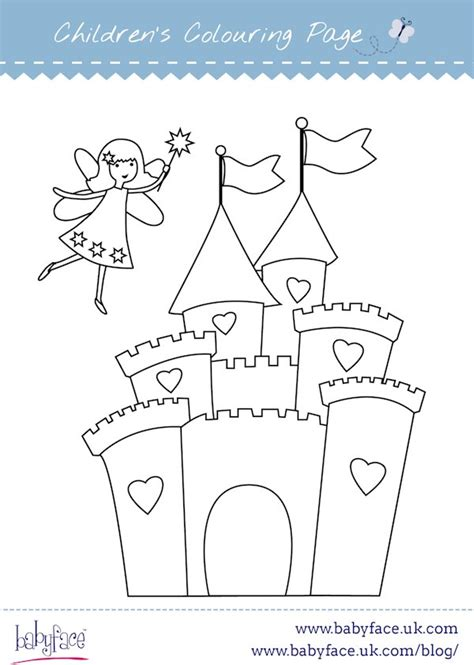 fairy tale castle coloring page click here to print fairy castle colouring page