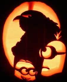 minion pumpkin carving template despicalbes by pumpken via flickr pumpkin carvings