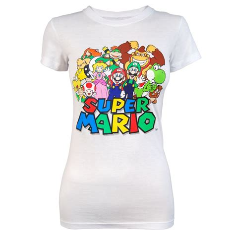 tshirt mario freeze mario t shirt white freeze