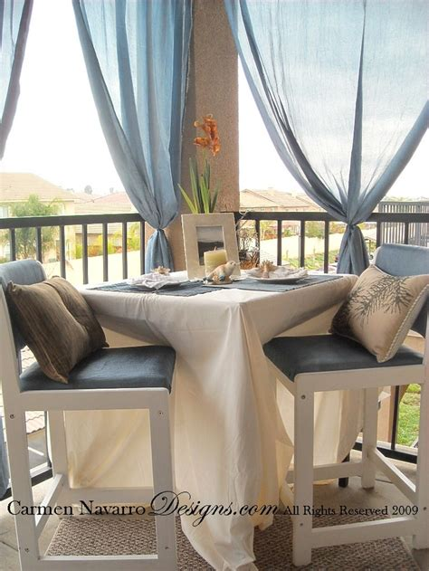 apartment balcony curtains 17 best ideas about apartment patios on pinterest