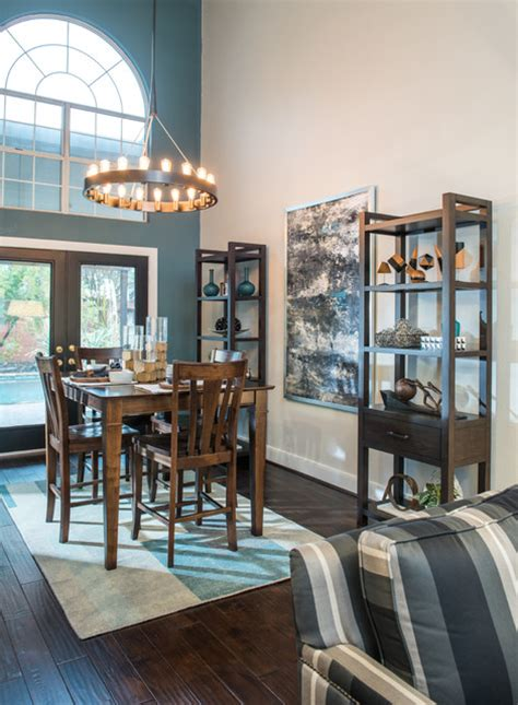 Houzz Modern Dining Room by Modern Bachelor Pad Dining Room Dallas