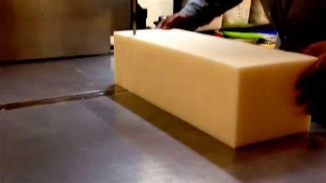 spugna gommapiuma taglio imbottitura per resingomm taglio gommapiuma immediato