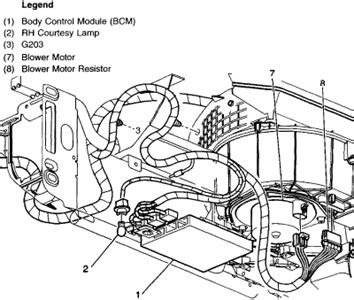 99 oldsmobile alero blower motor resistor wiring diagram