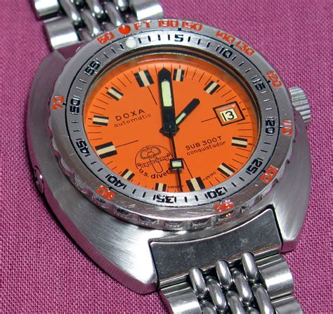 doxa dive diving with legends doxa sub 1200t hrv