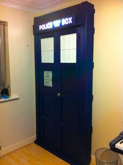 tardis bookcase for sale amazing homemade full sized tardis bookcase youbentmywookie