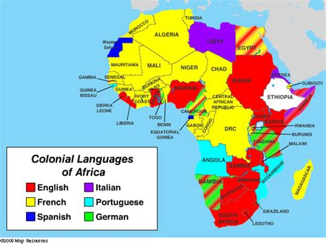 africa map of languages archives mount si big history project