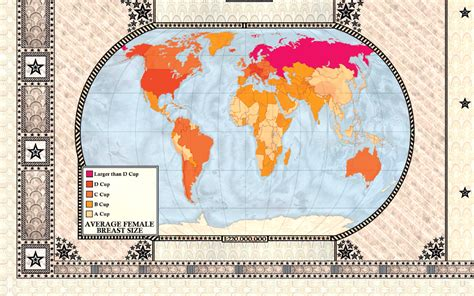 the curious map book maps reveal countries with largest breast and size and national debt metro news