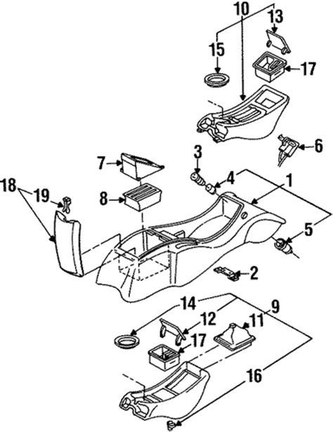 1995 pontiac firebird performance parts center console parts for 1995 pontiac firebird