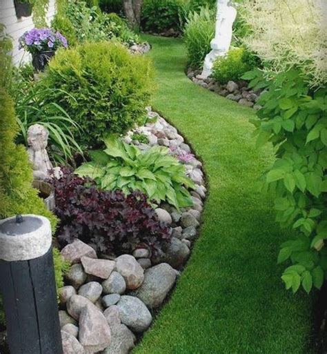 ideas for gardens small space rock garden ideas