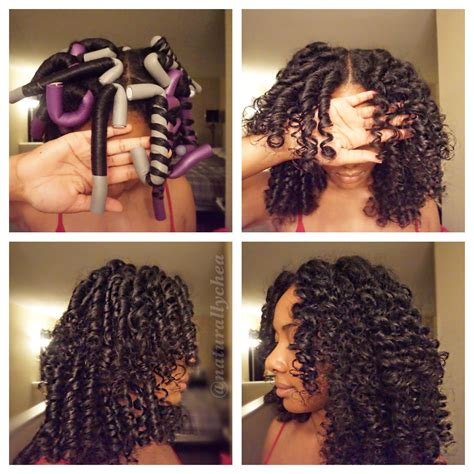 how to roll hair with jumbo flexi rods how to roll flexi rods on natural hair hair pinterest