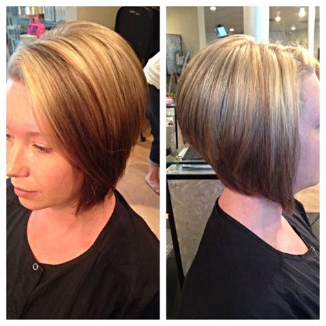reverse wedge haircut pictures reverse ombr 233 cute bob cut haircuts pinterest bob