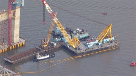 tugboat crash tappan zee bridge ntsb releases cause of fatal tugboat crash near tappan zee