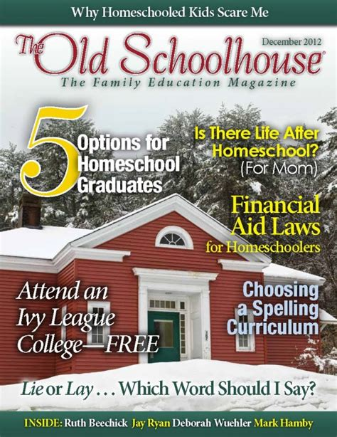 free old school house music downloads free homeschool magazine december issue of the old school house magazine digital