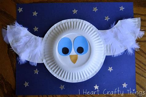 A Snowy Owl Papercraft Resting On My Laptop By - the white owl craft