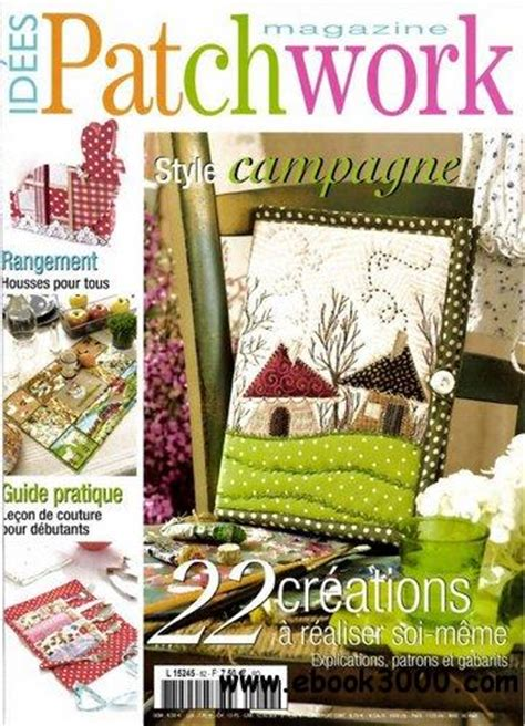Patchwork Magazines - idees patchwork magazine n 62 avril 2012 free ebooks