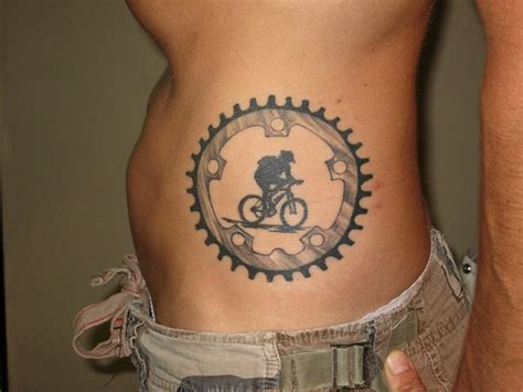 mountain bike tattoo designs suz lowry sacramento ca by squirrels cycling