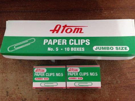 Klip Kertas Paper Klip No 1 distributor alat tulis kantor dan stationary paper