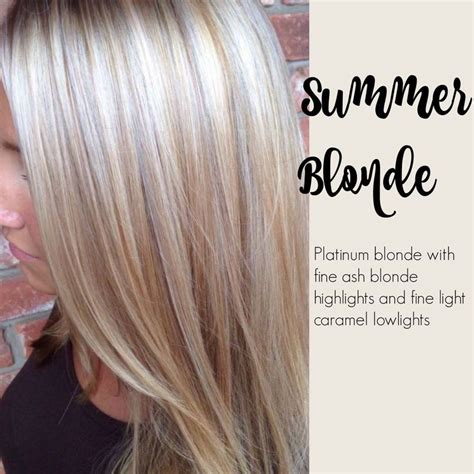 fine blonde highlights summer blonde platinum blonde with fine ash blond