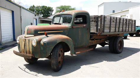 1946 ford truck for sale 1946 ford 1 1 2 ton grain truck for sale