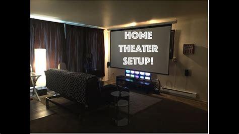 home theater setup  youtube