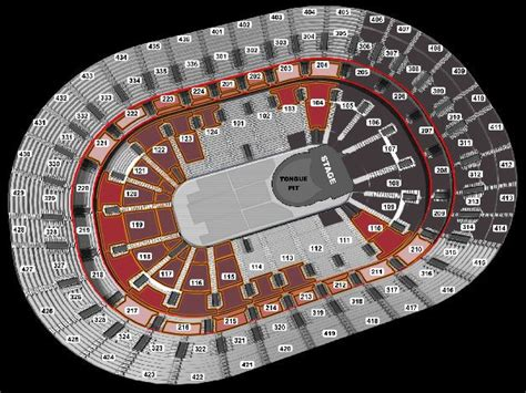 bell centre detailed seating chart rolling stones seating chart guide for 50 and counting concert