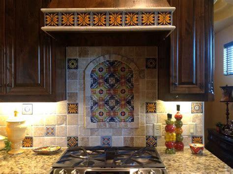 talavera backsplash for the home
