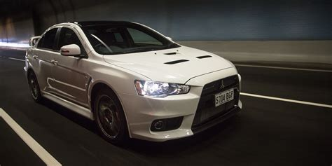 mitsubishi evolution 10 2016 mitsubishi lancer evolution x review final edition