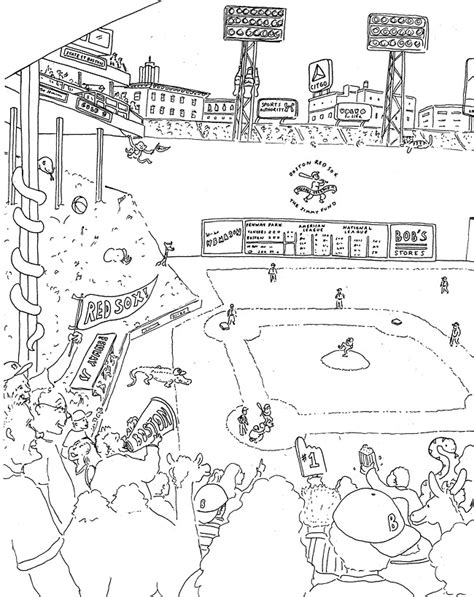 boston red sox coloring pages az coloring pages