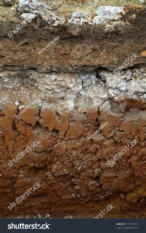 underground soil layers powerpoint template backgrounds image underground soil layers stock photo 111010412