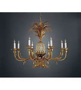 Replacement Glass Shades For Chandeliers Wildwood Lamps Pineapple Chandelier In Florentine Iron Art 352