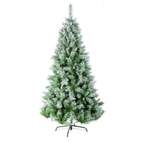christmas tree 2 10m 7ft flocked snow princess pine