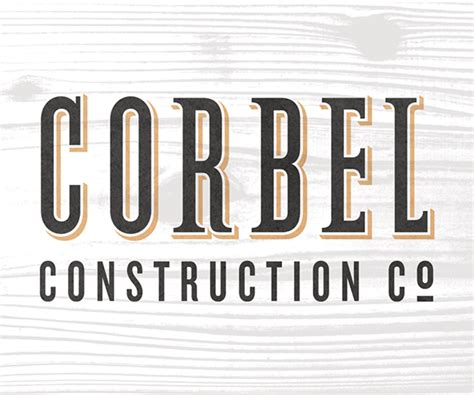 Corbel Construction Corbel Construction Co On Behance