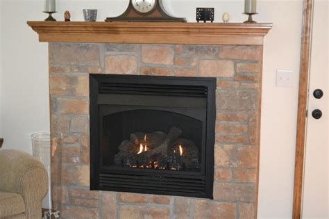 gunbroker message forums ventless fireplace vs wood