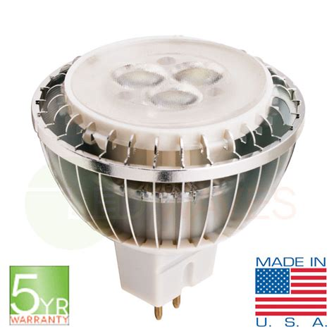 Led Waves Introduces New Led Mr16 Light Bulb Made In The Usa Led Light Bulbs Made In Usa