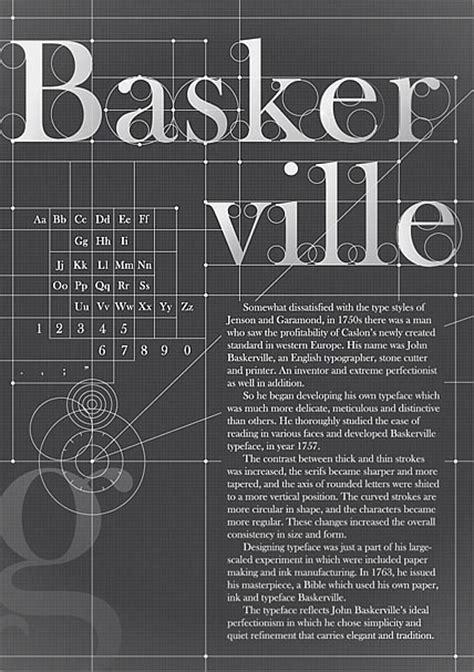 design poster fonts baskerville typography poster design by koyoox