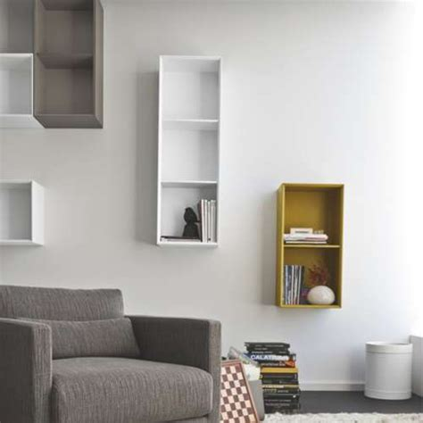 How To Build A Shelf Inside A Wall by Calligaris Inside 2 Unit Vertical Wall Shelf Yliving