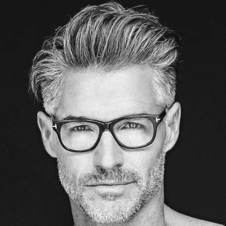 beard and glasses mens hairstyles for older men hairstyles