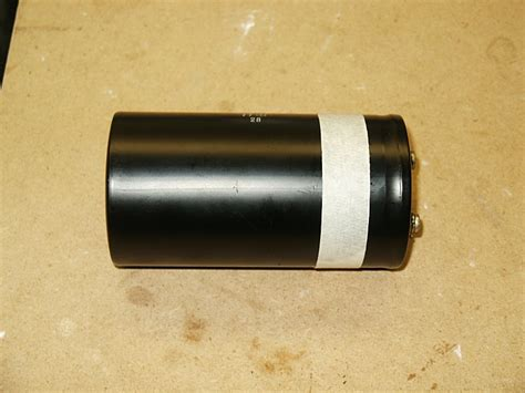 open filter capacitor marantz 2385 filter capacitor re