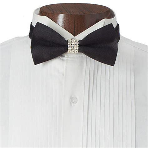 rhinestone shimmer bow tie