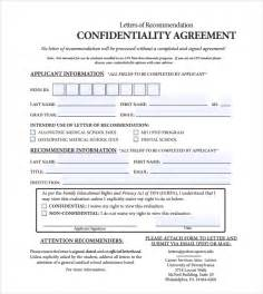 7 Free Confidentiality Agreement 7 free confidentiality agreement templates excel pdf formats