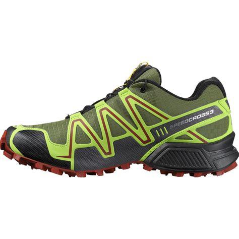 salomon speedcross 3 mens trail running shoes salomon speedcross 3 climashield trail running shoe