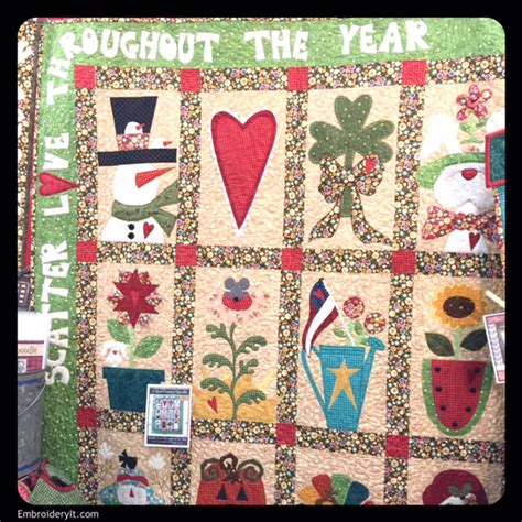 Quilting Society by American Quilter S Society Is In Grand Rapids Embroidery It