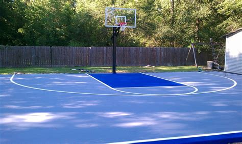 cost to build a backyard basketball court diy backyard basketball court backyard basketball courts hoops outdoor court surfaces