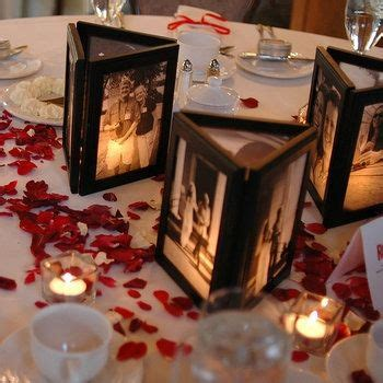 best 25 picture centerpieces ideas on photo