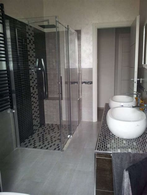 ordinario Mosaici Per Doccia #3: bagno-moderno-con-mosaico.jpg