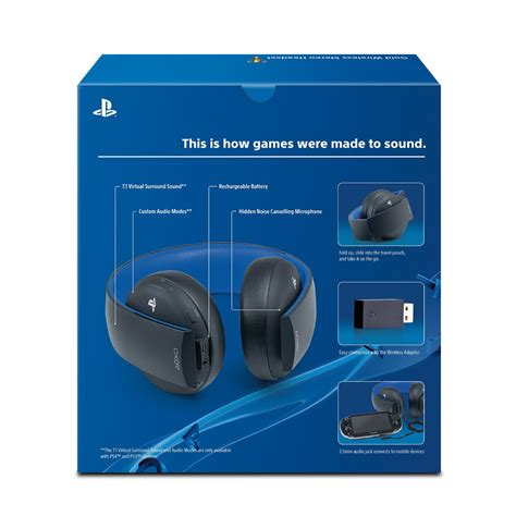 Sony Gold Wireless Headset gold wireless stereo headset ps4 sony microplay